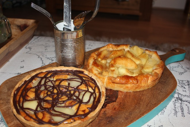 Pies, part of our girls night in