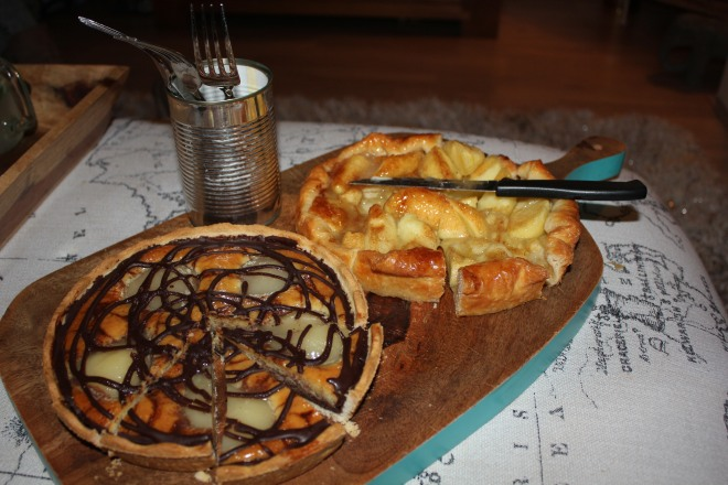 Pies, part of our girls night in.
