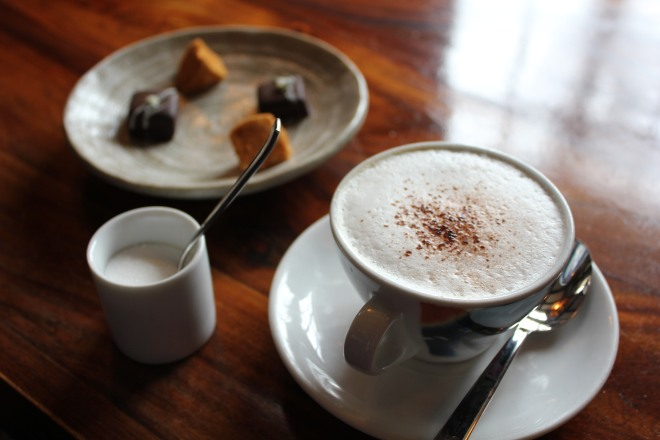 Coffee and sweet treats at The Royal Oak, Paley Street