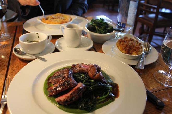 Mains at The Wellington Arms in Baughurst