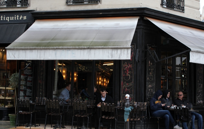 Cafe Saint Regis, Ile Saint-Louis, Paris