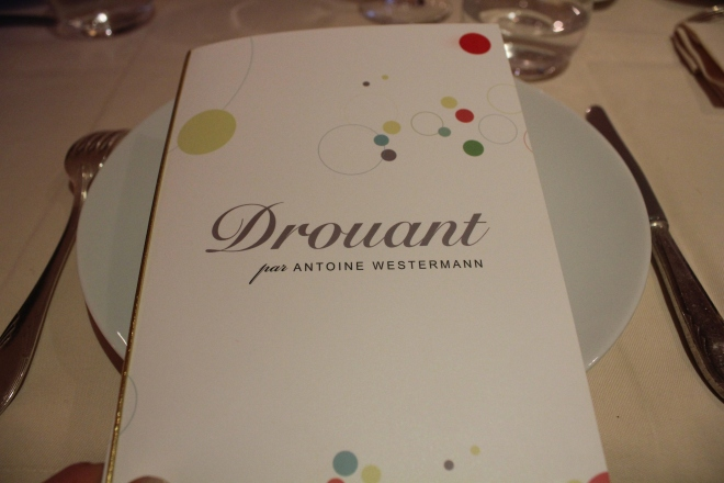 The Drouant restaurant, Paris