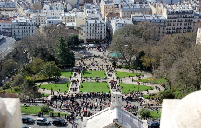 View Of Square Willette One Of The Two Best Churches Sacre-Coeur Paris
