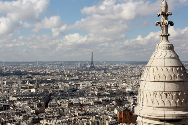 The Two Best Churches In Paris: Sacre-Coeur. A View For Miles.