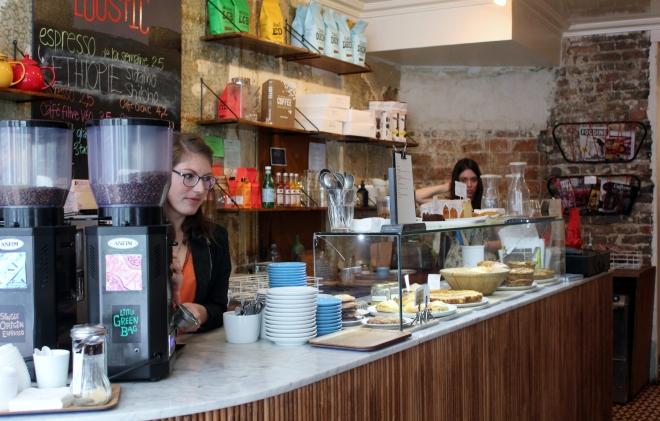 Funky Loustic cafe, 3rd arrondissement, Paris
